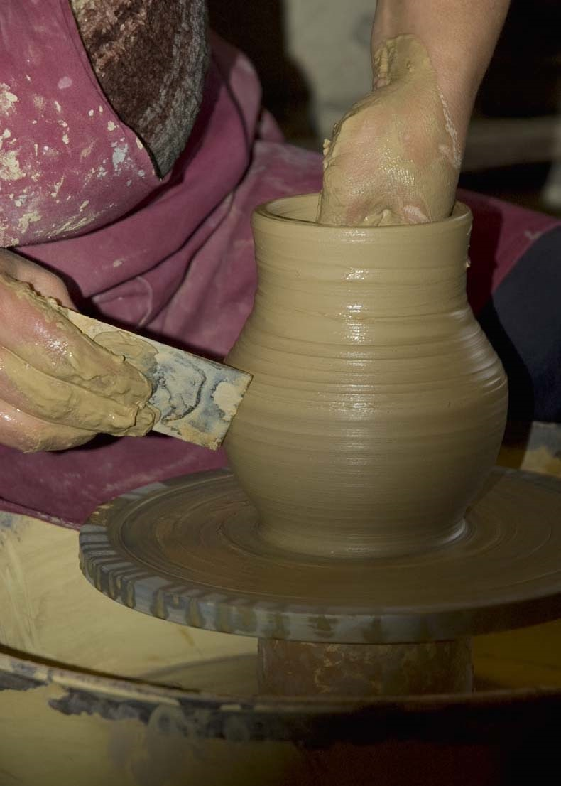 nombre numero en poteries
