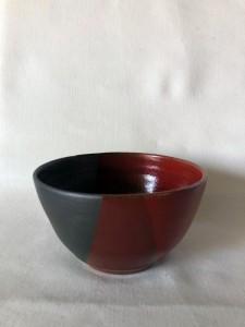 Bols rouge et noir - H=7,5 / D=13 - 15 €